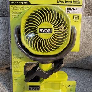 Ryobi Clip on fan